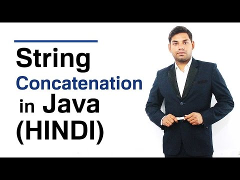 String Concatenation In Java (HINDI)