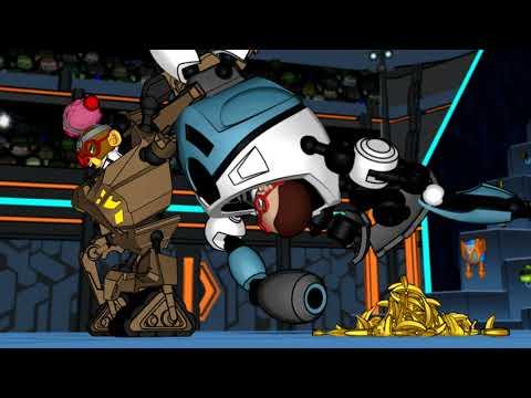 Ready2Robot | Batalla De Robots Con Slime | Episodio 2: Wedgie Vs. Bananas