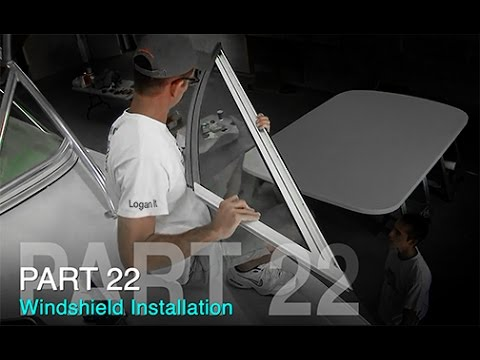 Taco Marine Project Boat on Ship Shape TV: Part 22 – Windshield