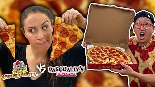 THE TRUTH Behind Chuck E Cheese's Fake Pizzeria ?on Grub Hub // ENTIRE MENU
