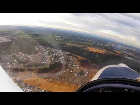 First Area Solo - full flight