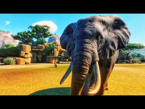 Elephant Enclosure! | Planet Zoo