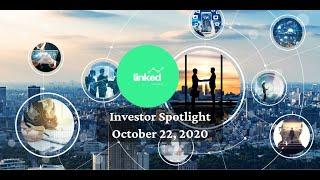 Linked Ventures Investor Spotlight October 22, 2020