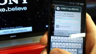 Wi-Fi Direct on Tv Sony Bravia: Tutorial