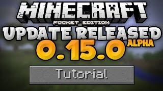MCPE 0.15.0 RELEASED!!! - How To Get 0.15.0 Beta Tutorial - Minecraft PE (Pocket Edition) Alpha