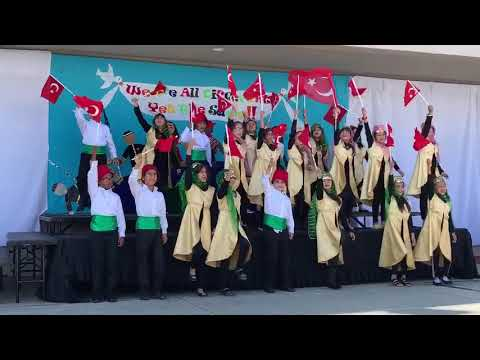 Orange Crescent School Students Take Part in Pro-Erdogan Performance