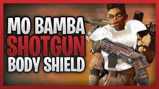 MO BAMBA SHOTGUN & LEVEL ONE BODY SHIELDS! - Apex Legends Funny Moments