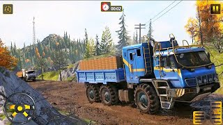 Truck Simulator Android Game 2021 -Offroad Cargo Truck Driving - Offroad Mud Driving 3D 2021 screenshot 5