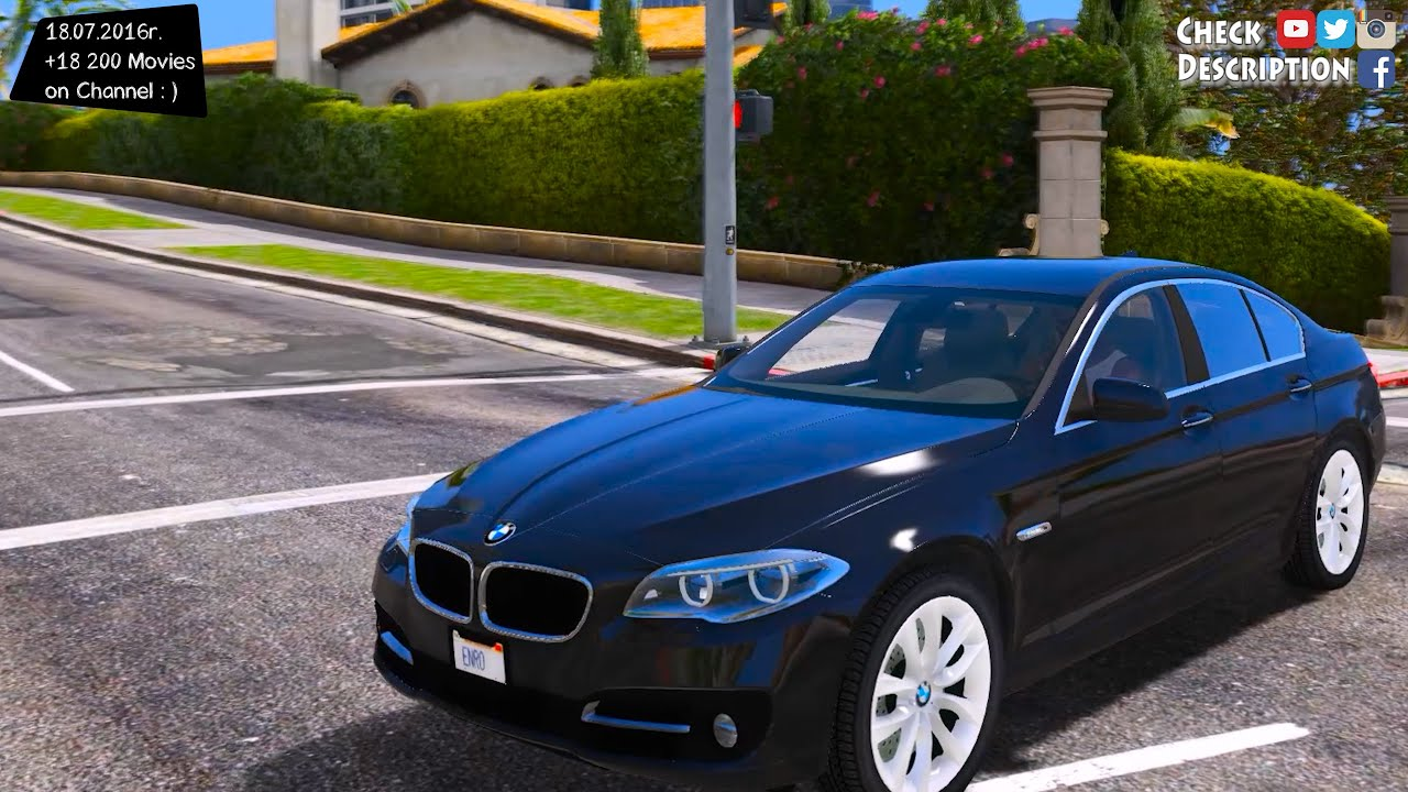 2015 bmw 530d f10 gta v mod 2 7k 1440p youtube. Black Bedroom Furniture Sets. Home Design Ideas