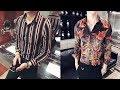 Top Shirt Slim Fit Men Dress Luxury Chemise Homme Party