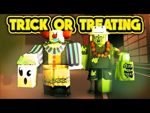 TRICK OR TREATING IN JAILBREAK! (ROBLOX Jailbreak)