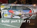 FMS 1450 P-51 Build  part  5  of 7 (checking  ldng gr / set flt ctrls)
