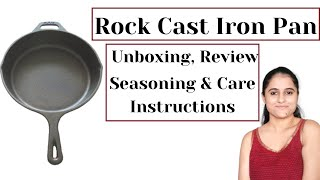 Rock Cast Iron Tawa Review amp Unboxing Seasoning Cooking amp Cleaning Instructions Beginner 39 s Guide