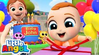 Happy Birthday Baby John! | Little Angel Kids Songs & Nursery Rhymes