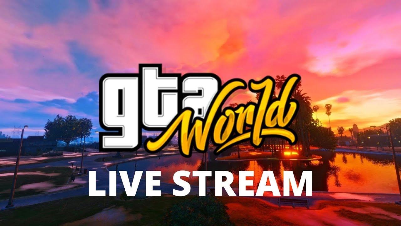 GTA:WORLD - Dustin Koch Adventures #2 [LIVESTREAM]