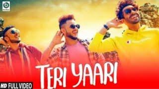 Teri Yaari (Full video song) millind Gaba | Mera Bhai mera yaar Meri Jaan Tu | friendship song 2020