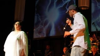 Krunk Song by Flora Martirosian and Pras Michel at Never Again Peace Concert