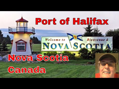 Port of Halifax, Nova Scotia, Canada