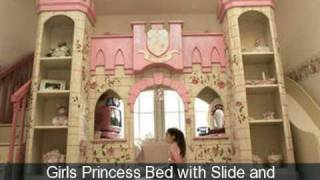 Custom Made Designer Fairytale Girls Beds