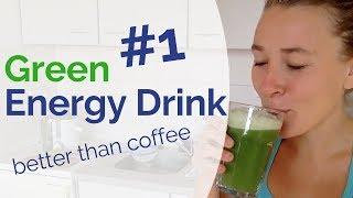 #1 Best Green Energy Drink that Beats Coffee by 1000% - Coffee Alternative