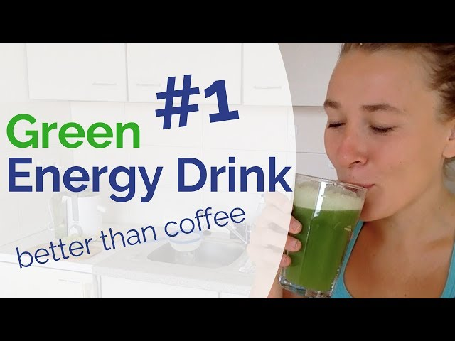 #1 Best Green Energy Drink that Beats Coffee by 1000% - Coffee Alternative