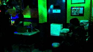 Luv Fyah & Ras Amlak chant on Brizion Riddim at Sound Sanctuary Oakland 12-27-2014