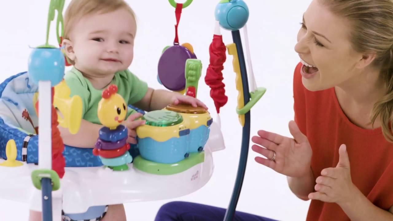 6ea2f3217 Baby Einstein Neighborhood Symphony Jumper™ - YouTube