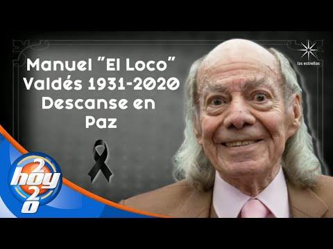 Fallece el actor, Manuel 'El loco' Valdés   Hoy