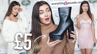 TRYING £5 CLOTHING FROM EVERYTHING5POUNDS.COM ... TOO GOOD TO BE TRUE!? AD