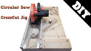 Circular Saw Crosscut Jig / Торцовочная система из циркулярной пилы