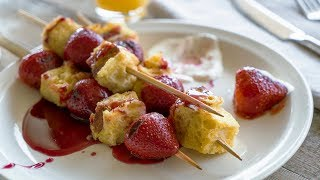 How to Make French Toast Kebabs | Sunset