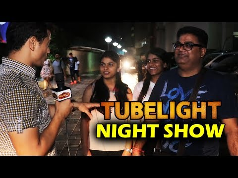 Tubelight Public Review | NIGHT SHOW | जनता का रो रो के बुरा
