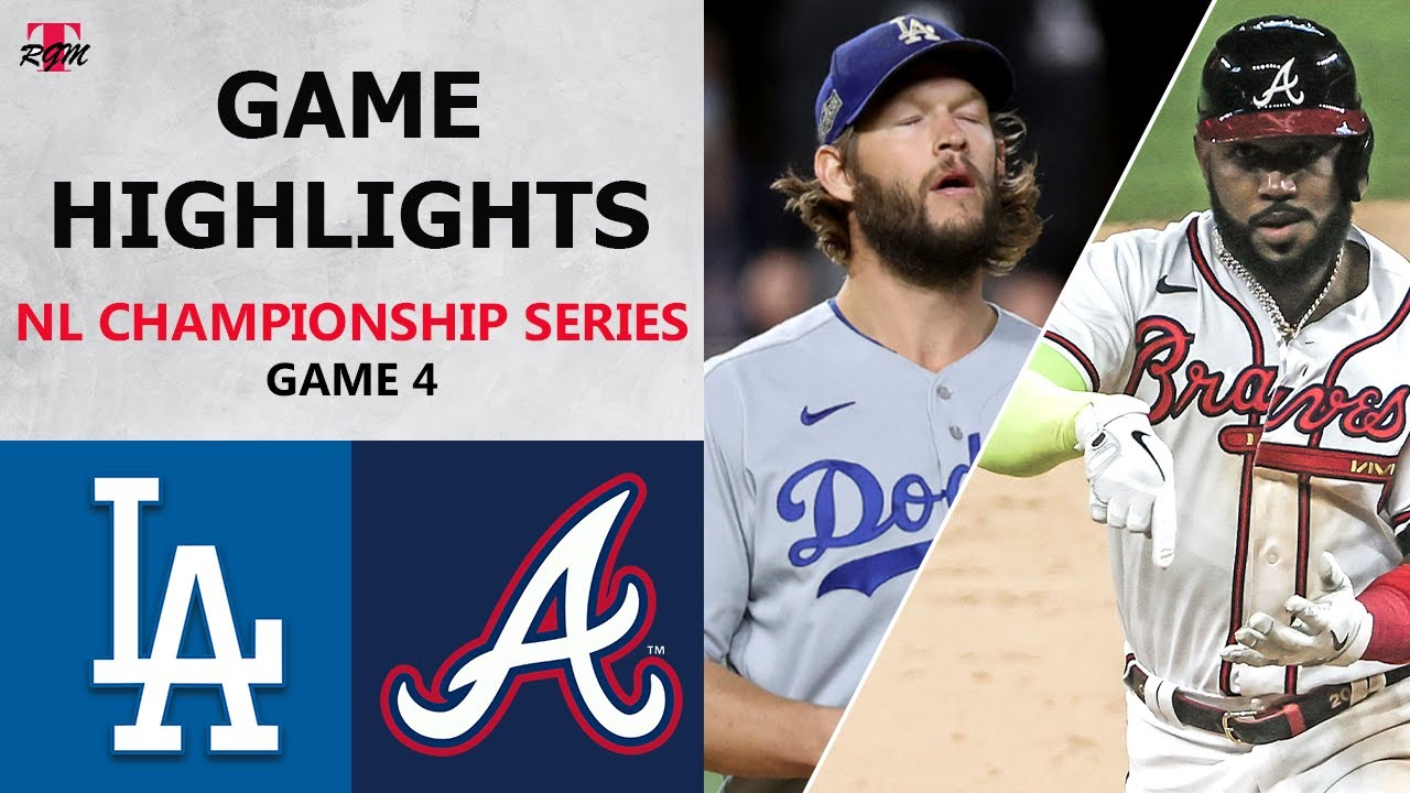 Braves vs. Dodgers: Braves looking for redemption in NLCS Game 4