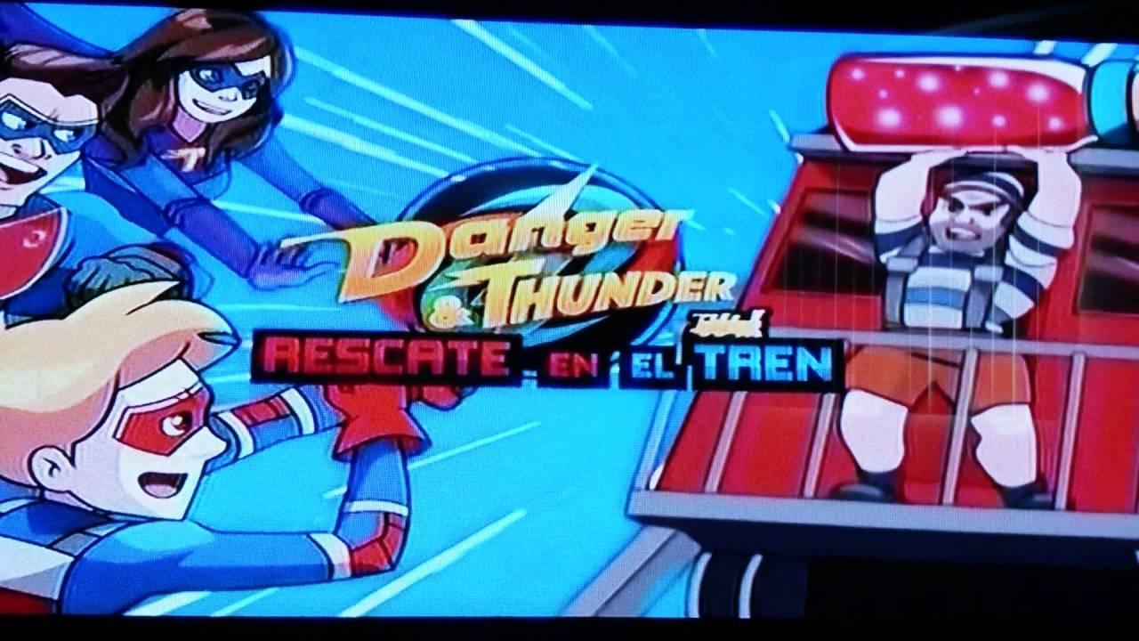 grosor Lugar de la noche Dedos de los pies  Danger & Thunder: Rescate en el Tren | Juega en MundoNick.com - YouTube