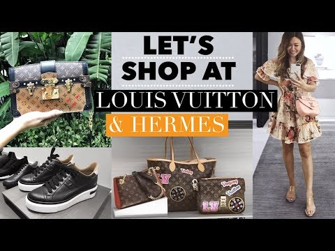 SHOP WITH ME AT LOUIS VUITTON & HERMES! LUX SHOPPING VLOG MALAYSIA 🛍
