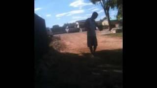Dylan doing his black fulla moonwalk
