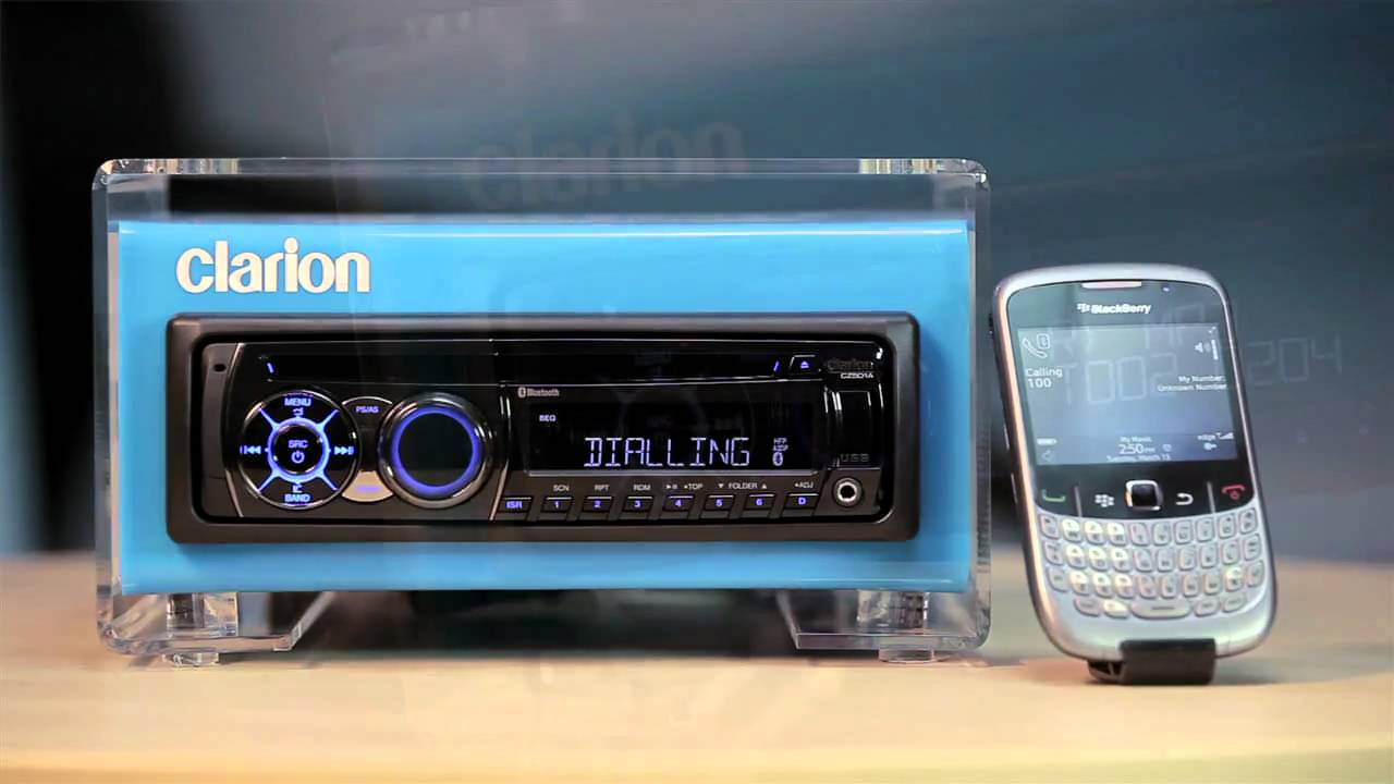 maxresdefault clarion cz501 10 bluetooth mov youtube clarion cz300 wiring diagram at bayanpartner.co