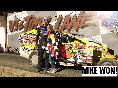 Mike Won At Albany Saratoga Speedway!