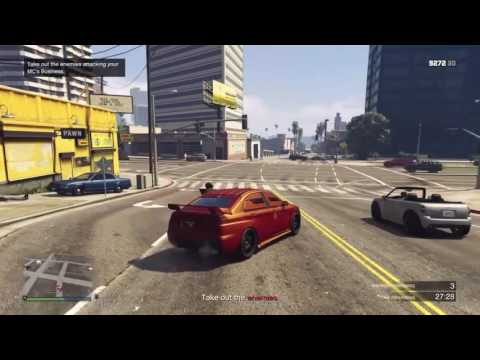 GTA 5 - Bikers - Defend product - Police raid at business