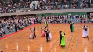 社交ダンスの競技会ワルツWaltz Amateur Senior Standard Ballroom Dancesport Competition