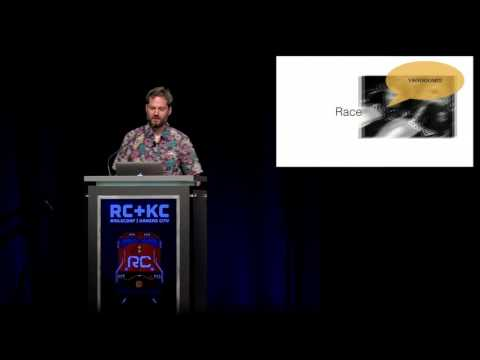 RailsConf 2016 - Opening Day 3 Keynote by Aaron Patterson