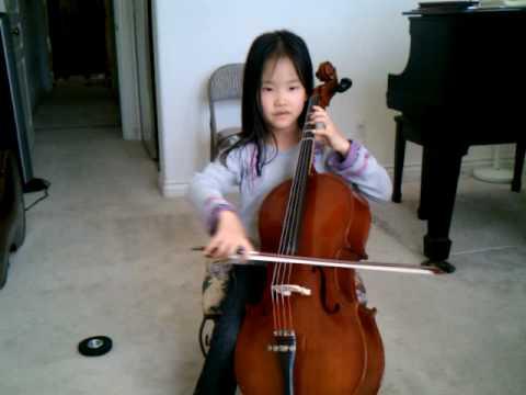 7 year old Jeslyn Cello San Diego