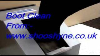 Shoeshine Electric Boot  Cleaner  & Shoe Cleaner