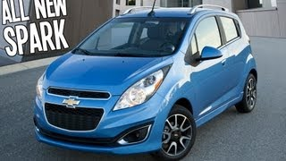 2013 CHEVROLET SPARK REVIEW CLOSER LOOK
