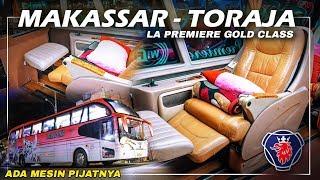Terlalu Nyaman! Naik Bis Primadona La Premiere Gold (Makassar - Toraja)