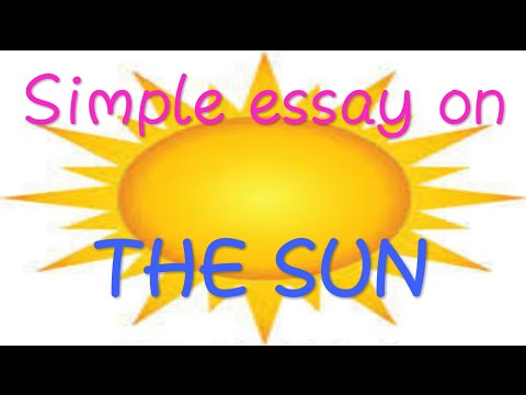 Easy essays for sun and moon