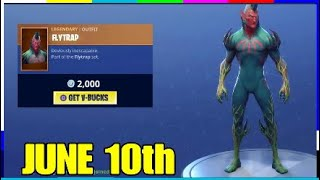 fortnite item shop june 10 daily featured daily items - fortnite item shop 3am