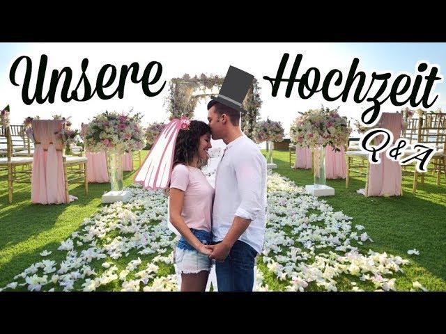 Was Wir Euch Noch Nicht Uber Unsere Hochzeit Erzahlt Haben Q A Barbarasofie Youtube