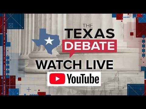 WATCH LIVE: #THETEXASDEBATE from KENS 5 STUDIOS