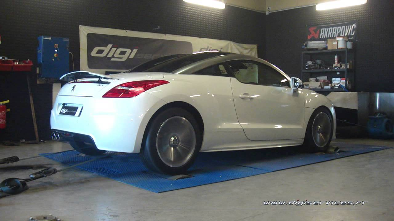 peugeot rcz 1 6 thp 156cv reprogrammation moteur 192cv digiservices paris 77 dyno youtube. Black Bedroom Furniture Sets. Home Design Ideas